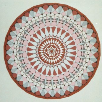 297-Caleidoscope-series - 28-angles (Indian art) [60 x 60]